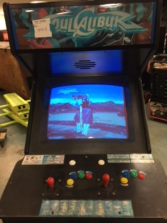 SOUL CALIBUR Upright Arcade Machine Game for sale by NAMCO  COINOP PARTS ETC  Arcade
