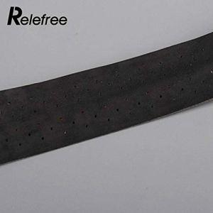 HATCHMATIC 5 Couleur Poignée Ruban Racket Ruban à Billes Poignée Ruban EVA Pratique: Noir
