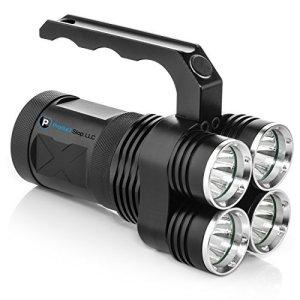 Mondes Plus lumineux–4000lumens haute puissance spot LED rechargeable–Portable et facile à transporter.