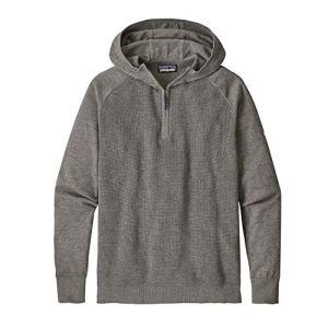 Patagonia M's yewcrag Sweat-Shirt de pêche, Homme M Gris (Hex Grey)
