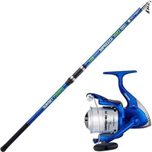 Sert – Ensemble surfcasting Canne Imprezza 3 m 90 + Moulinet 651 Fd
