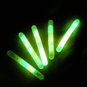 Outtybrave Lot de 50 bâtonnets Lumineux pour pêche Nocturne