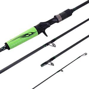 Canne à pêche Canne à pêche en Carbone Canne à pêche Ergonomique avec 4 nœuds (Taille : Gun Handle)
