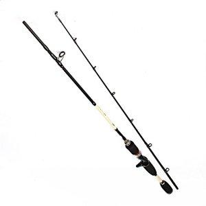 LjjZand-SP Canne à pêche Canne à pêche Fournitures de pêche Tiges d'acier au Carbone appropriées aux étangs Riverside (Taille : 2.1m)