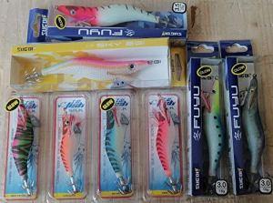 Sele Offre pour la pêche des Seiches composée de 8 totanes Tailles et Couleurs Assorties – Référence Magazzini LT21