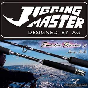 Jigging Master Evolution Titanium II Ultimate Canne à pêche, 50B / Max 300 / Purple