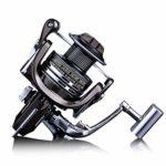 FENGXONG Moulinet de pêche 13+1 présence gauche droite poignée interchangeable pour pêche en eau douce en eau salée avec système de frein à traînée (taille : 6000)