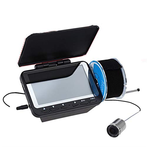4.3 pouces LCD poisson Finder détection de poissons Portable Sonar Capteur de pêche sous-marine Finder Transducteur accessoires de pêche for la pêche extérieure Détecteurs de Poissons pour Kayak Batea