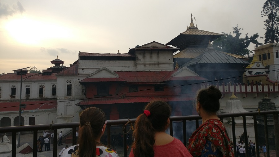 The last rites at Pashupatinath temple