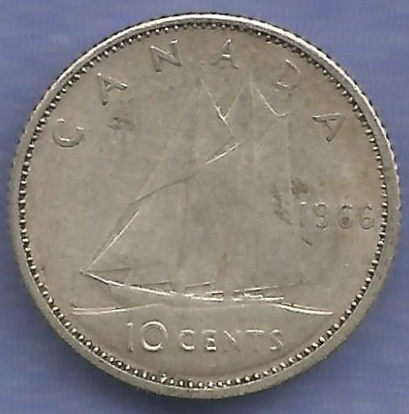 1966_canada_10_cents_reverse