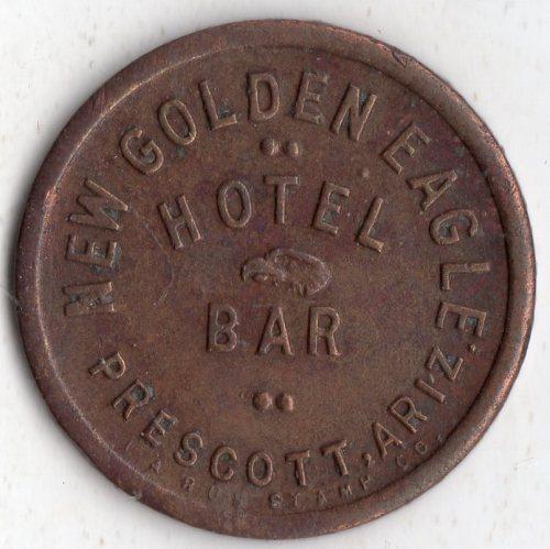 prescott_arizona_token_new_golden_eagle_hotel_and_bar_front