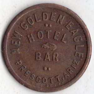 prescott_arizona_token_new_golden_eagle_hotel_and_bar_front
