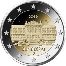 2 Ευρω, Μπουντεσρατ, Γερμανία, 2019