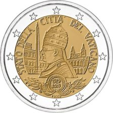 2 euro - 90th anniversary of the founding of the state of Vatican City, 2019