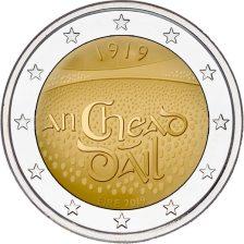 2 Ευρώ, 1η Συνεδρίαση Dáil Éireann, Ιρλανδία, 2019