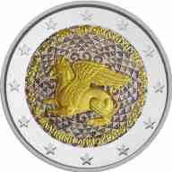 2 Ευρώ, Έγχρωμο, 100 Χρόνια από την Ενσωμάτωση της Θράκης, Ελλάδα, 2020