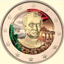 2 Ευρώ, Έγχρωμο, Ιταλία,2000. επέτειο από το θάνατο του Τίτο Λίβιο, 2017
