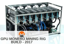 8 GPU Monero Mining Rig Build - 2017