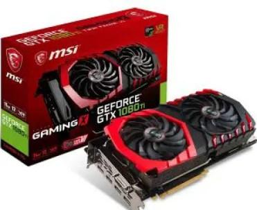 MSI GTX 1080 TI