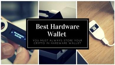 Best Hardware wallet