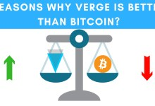 Comparison of Verge to Bitcoin