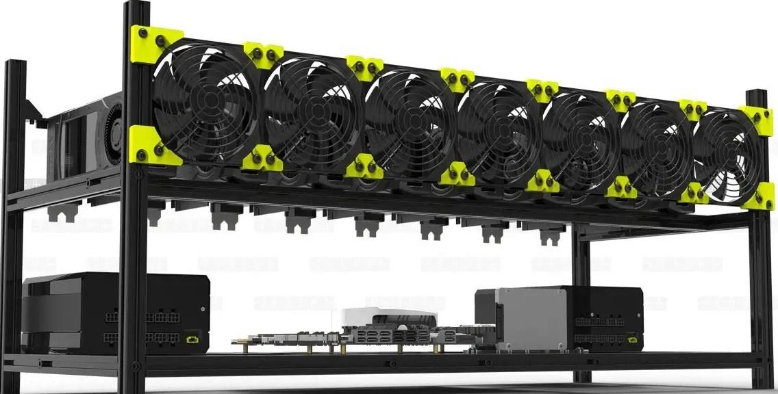 8 GPU Mining Frame