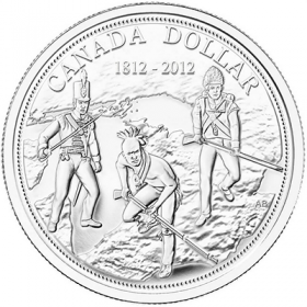 2012 (1812-) Canadian $1 War of 1812 200th Anniv Proof