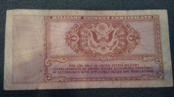 5 Cents - Military Payment Certificate Coin Talk