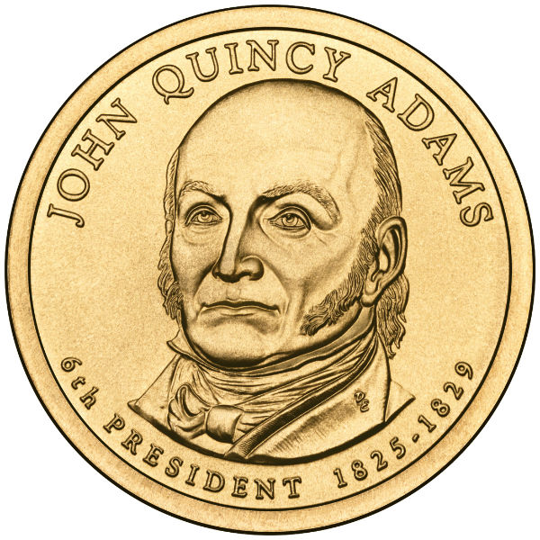 2008D $1 J.Q. Adams 25-Coin Roll