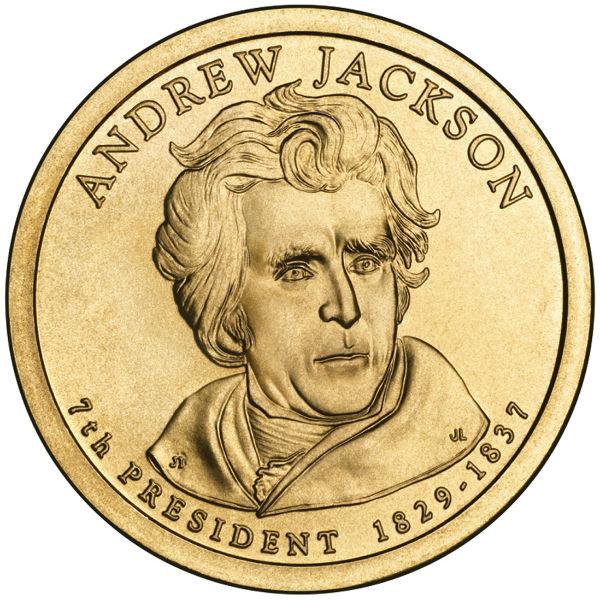 2008P $1 Jackson