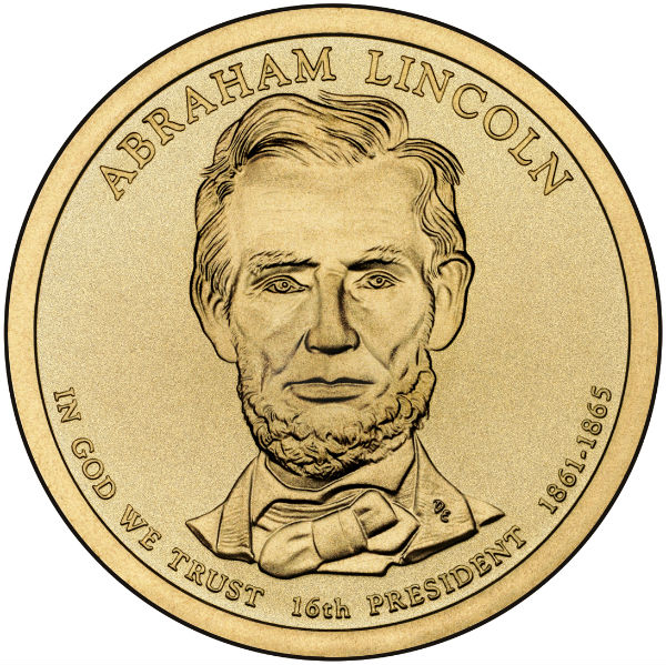 2010D $1 Lincoln 25-Coin Roll
