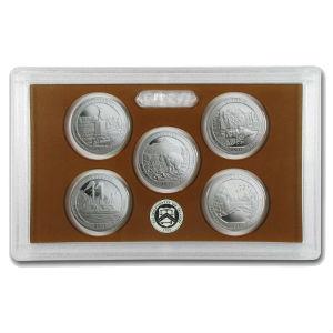 2011S 5-piece quarter Proof set