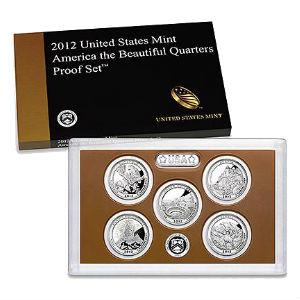 2012S 5-piece quarter Proof set