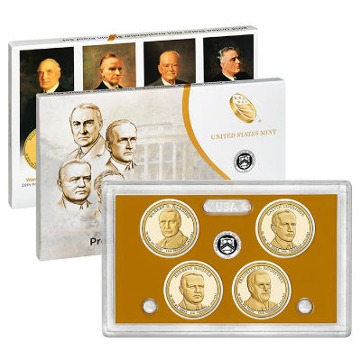 2014S 4-Piece Presidential Proof Set