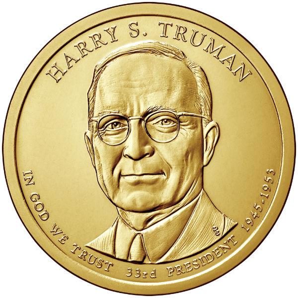 2015P $1 Truman