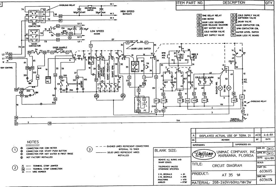 Huebsch Dryer Wiring Diagram Whirlpool Electric Dryer