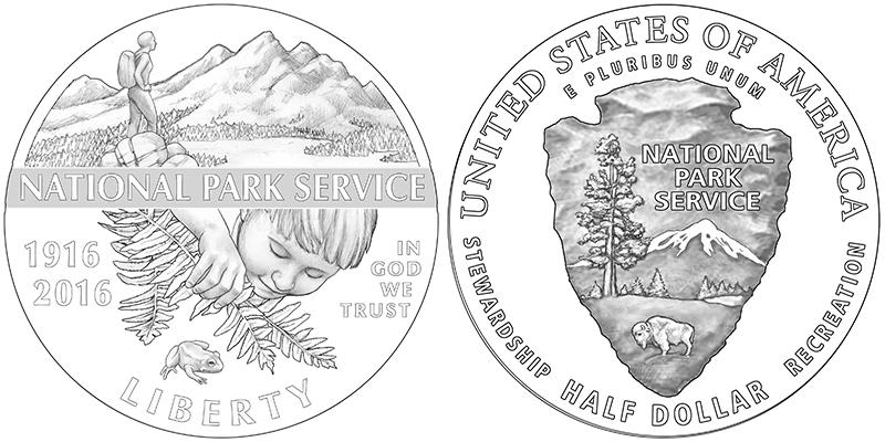 National Park Service 100th Anniversary Commemorative Coin