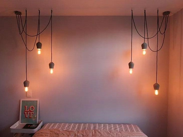 As escolhas de iluminação para o apartamentinho!