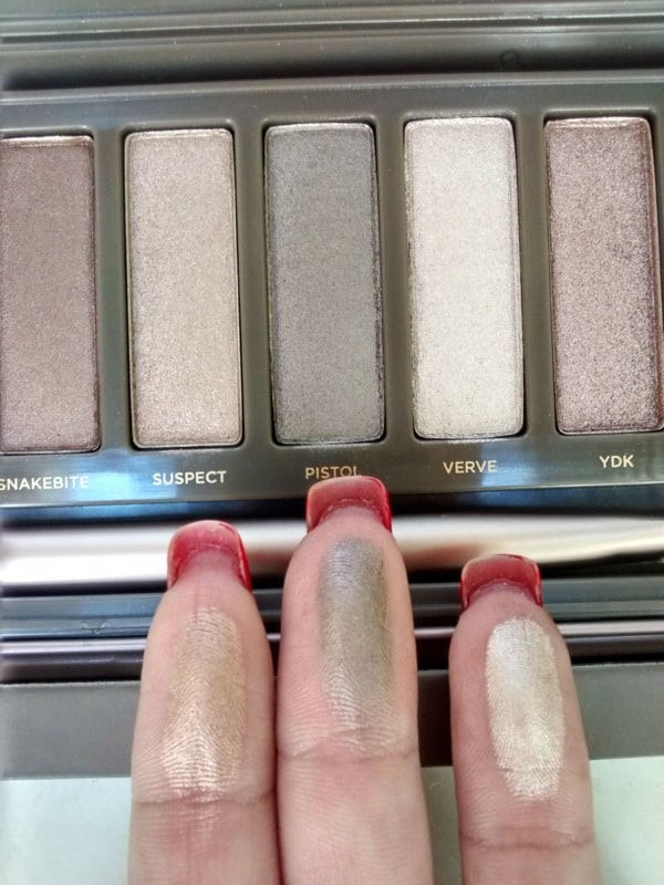 Naked 2 - Swatches (YDK, Busted, Blackout)
