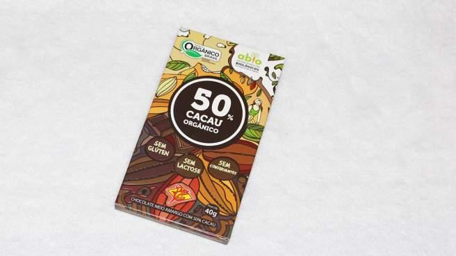 Bombom saudável de manteiga de coco e berries - Chocolate 50%