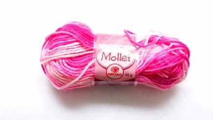 DIY pompom rolo de lã