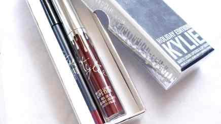 Holiday Edition Kylie Cosmetics - Lip kit Vixen (Embalagem)