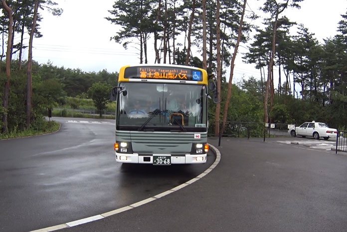 Ônibus para a Subaru Line (Foto: Márcio Ikuno)