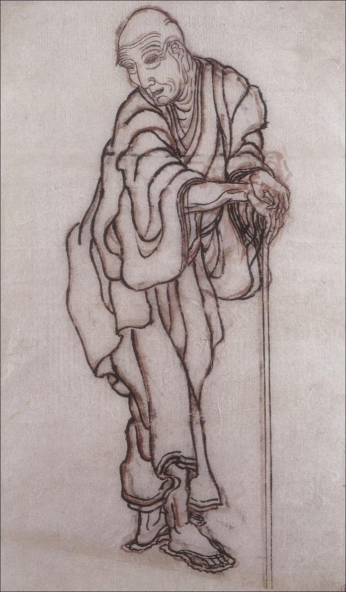 Hokusai - Self Portrait