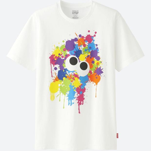 camiseta Splatoon