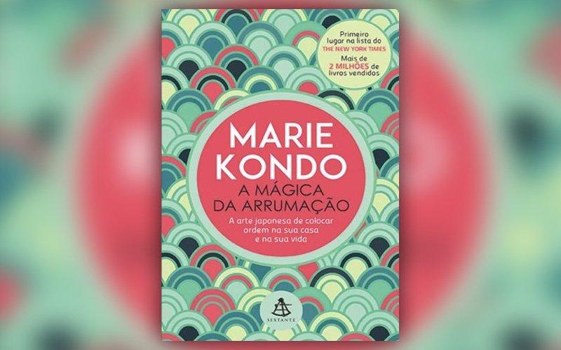 Livro de Marie Kondo - Best-seller