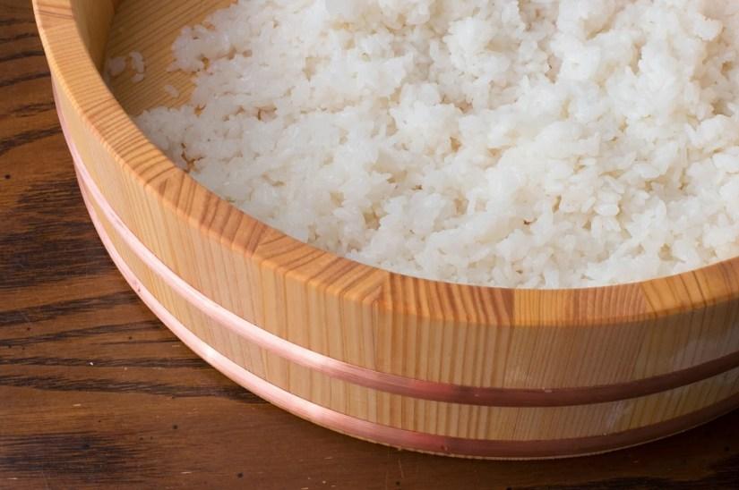 arroz para sushi