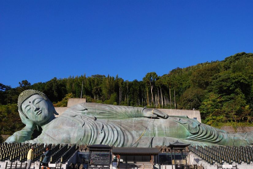 estátua de Buda no Japão