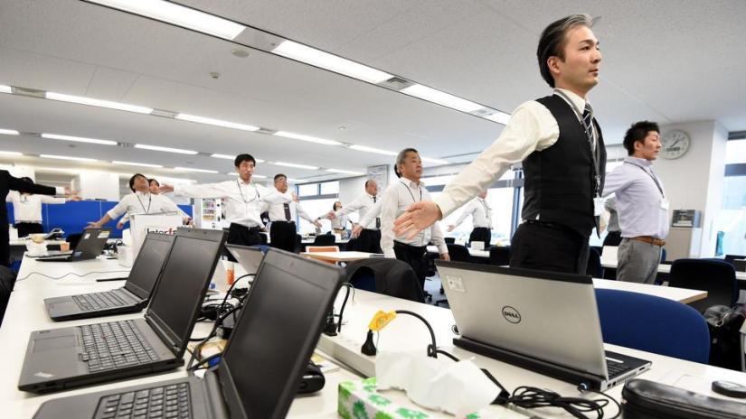Hábito japonês - praticar atividade física