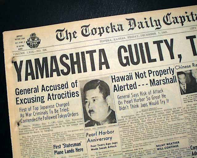 captura do general Yamashita
